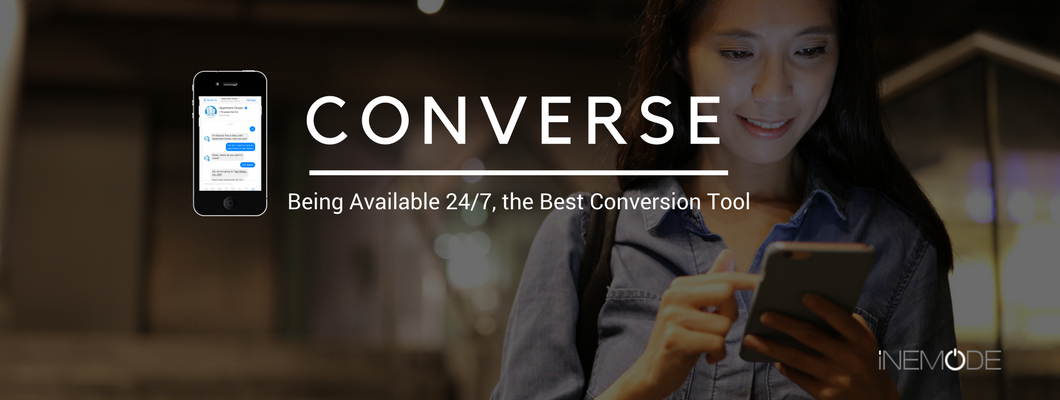 Converse using chatbots